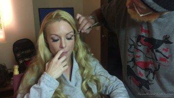 Kinky backstage xxx intervista con l'attrice porno davvero sexy Lily Cade.
